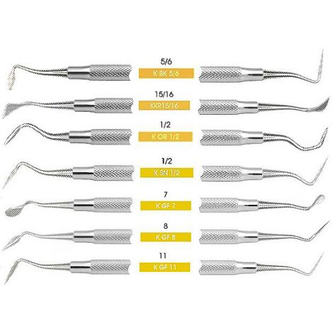 Periodontal Knife 5/6 Buck Double End