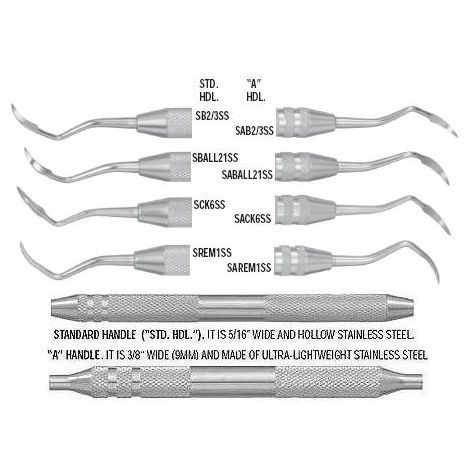 Periodontal Sickles Scalers