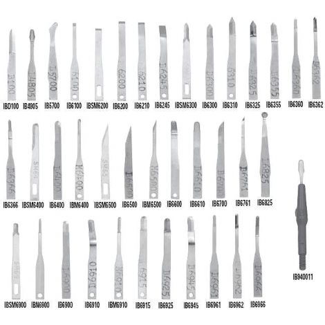 Microsurgical / Collet Type Blades (G. Hartzell & Son)