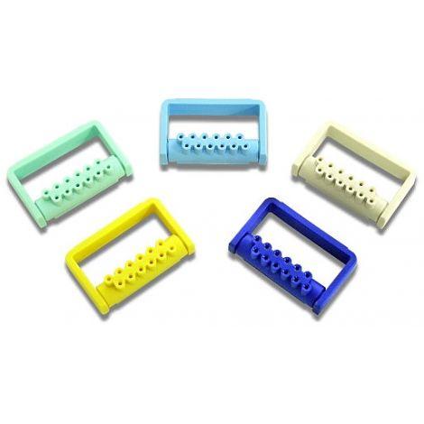 Plastic Bur Dispenser 12 FG Navy Blue