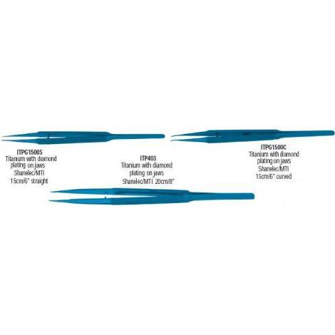 Microsurgical Titanium Tissue Pliers (G. Hartzell & Son)