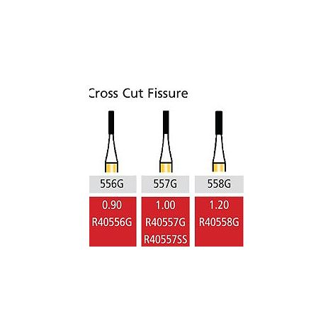 Speedster Cross Cut Fissure FG-Short Shank (Coltene)