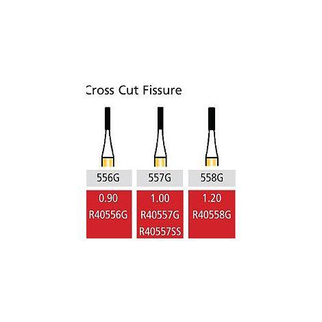 Speedster Cross Cut Fissure FG-Short Shank (Coltene)