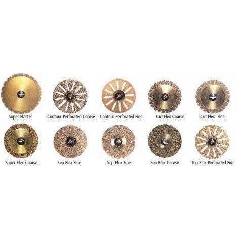Ti-Coated Diamond Discs (Keystone)
