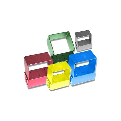 Aluminum HP Bur Blocks ( Pac-Dent )