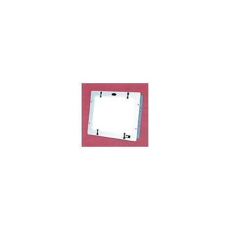 "Recessed X-Ray Viewer 10.5"" x 13.5"" With White Frame (Star X-Ray)"