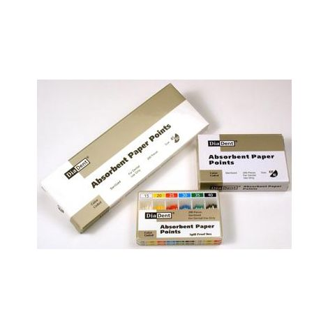 Paper Points Vials (DiaDent)