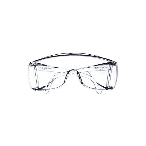 Safety Glasses, Clear with Side Shields