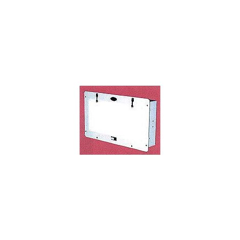 "Recessed X-Ray Viewer 6"" x 13.5"" With White Frame (Star X-Ray)"