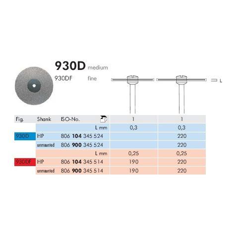 Diamond Discs 930D (Meisinger)