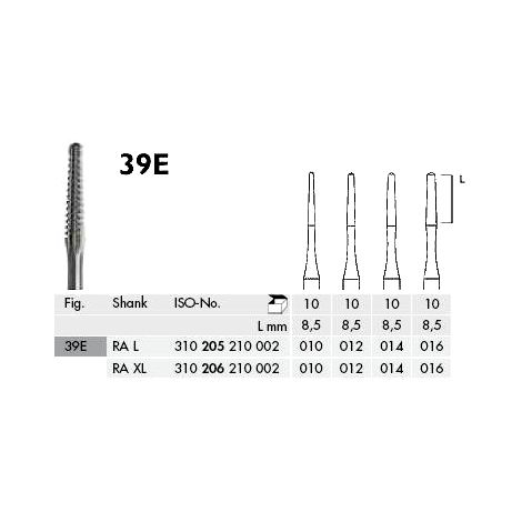 RA L 39E-014 Root Canal Carbide Burs Pk/10