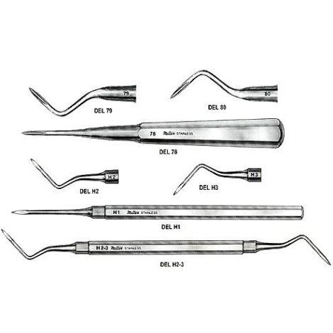 Root-Tip Pick Eevators (Miltex)