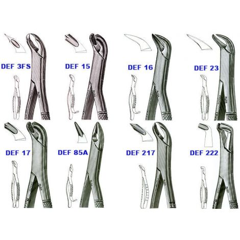 Extracting Forceps 'LOWER MOLARS' (Miltex)