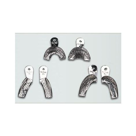 Metal Perforated Impression Trays Partial (DiaDent)