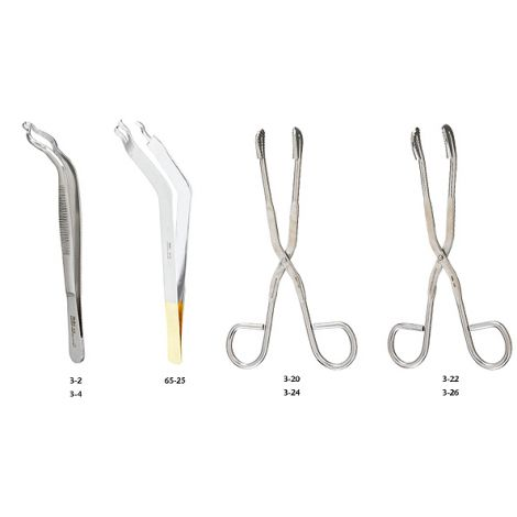 "Utility-Sterilizer Forceps, 11"" (27.9 cm), straight"