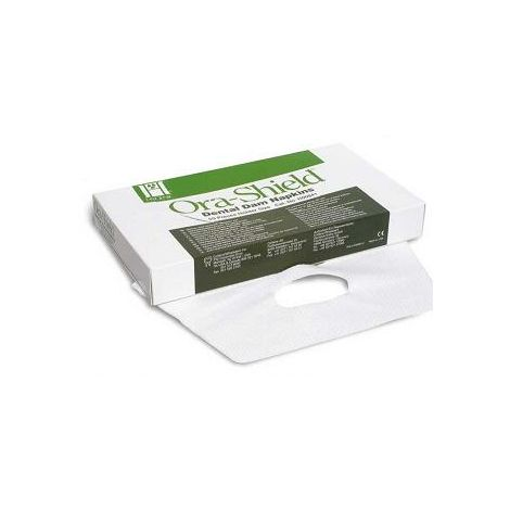 Ora-Shield Dental Dam Napkins Fits Holder (large size) Pk/50