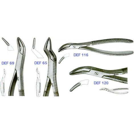 Extracting Forceps 'ROOTS' (Miltex)