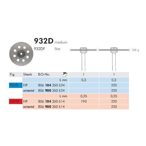 Diamond Discs 932D (Meisinger)