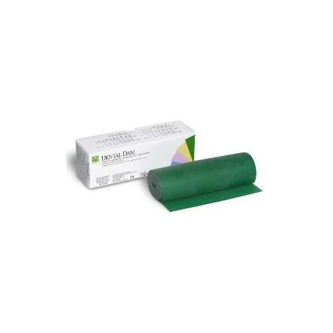 "Roll Dental Dam 6""x18ft Latex (Hygenic)"