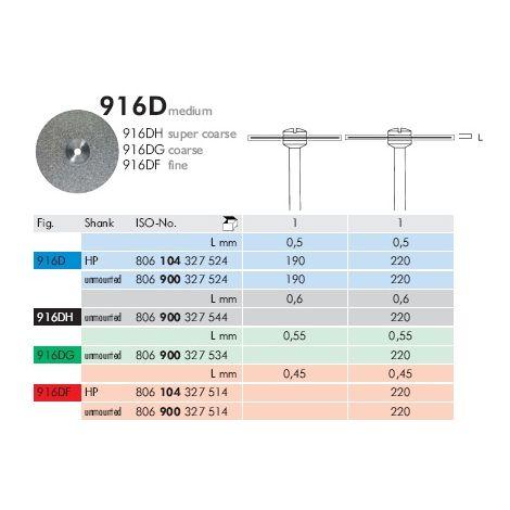 Diamond Discs 916D (Meisinger)