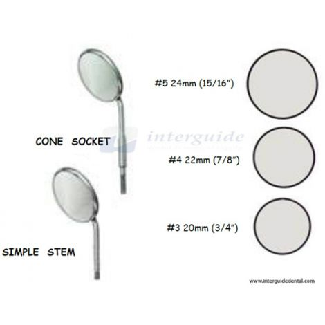 Mouth Mirrors (East West Instruments Inc)