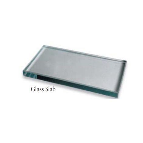 "Glass Mixing Slab #10 (3"" x 6"" x 1/2"")"