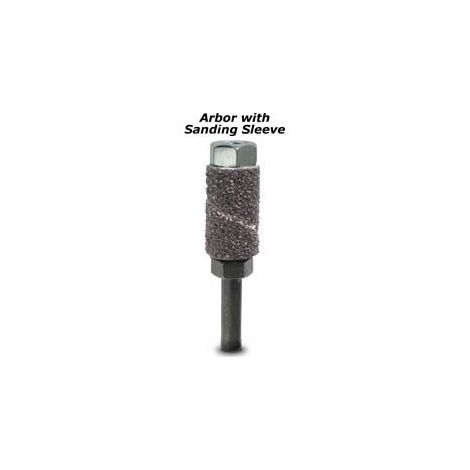 Router Sanding Sleeves, Standard 40 Grit (Arbor Bands, Pk/30)