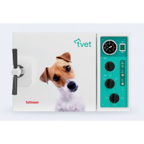 TVET 10M Manual Autoclave For Veterinary Use